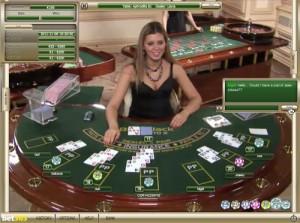 Live Blackjack Table online